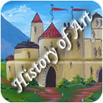 history of waterway art button